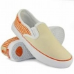 Обувь жен Circa 50 Lopez W Slips Orange/Cream/White Stripes 2009 г артикул 7640y.
