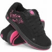 Обувь жен DVS Accomplice Black/Pink Nubuck 2009 г инфо 7671y.